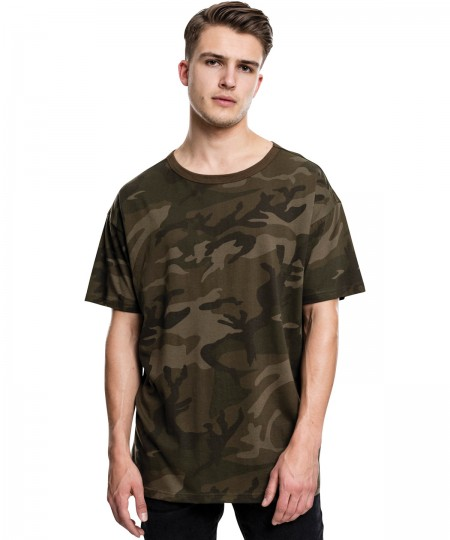 Build Your Brand-Camouflage heren T-shirt